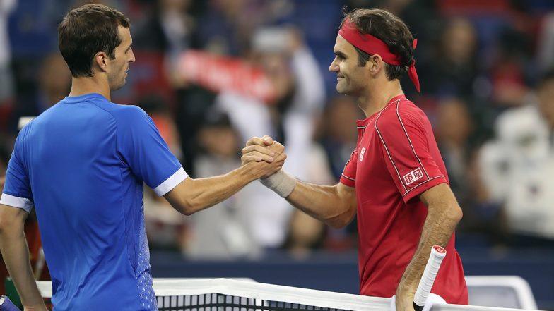 Roger Federer Admits He Was Seeking Revenge Against Albert Ramos-Vinolas After Victory in Shanghai Masters 2019