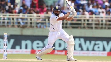 India vs South Africa, 1st Test 2019, Day 1 Match Report: Rohit Sharma Scripts History as Opener Before Heavy Rain Forces Early Stumps in Visakhapatnam