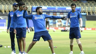India vs Bangladesh 2019 1st T20I: Rohit Sharma and Co to Spend More Time at Gym Instead of Outdoor Training Sessions Due to Poor AQI in New Delhi