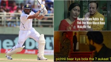 These Rohit Sharma Funny Memes Are Must-See After Indian Opener Slams Fantastic Hundred vs South Africa in 1st Test Match 2019