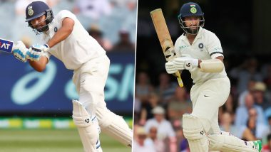 Rohit Sharma Uses Cuss Word at Cheteshwar Pujara For Not Running a Single, But Ben Stokes Takes a Swipe at Virat Kohli, Here's Why (Watch Video)