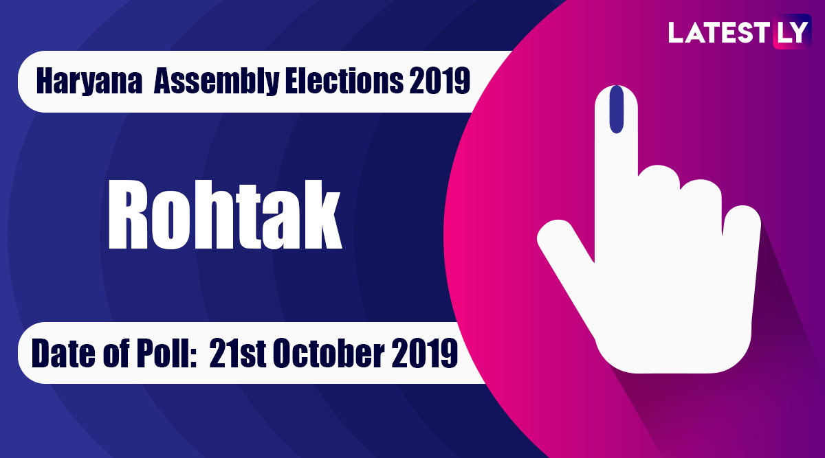 Rohtak Vidhan Sabha Constituency Election Result 2019 in Haryana: Bharat Bhushan Batra of Congress Wins MLA Seat in Assembly Polls