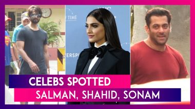 Salman Khan, Shahid Kapoor, Arjun Kapoor, Sonam Kapoor & Others Spotted In The City | Celebs Spotted