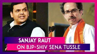 CM Devendra Fadnavis Himself Had Uttered The '50-50 Formula': Sanjay Raut, Shiv Sena Leader