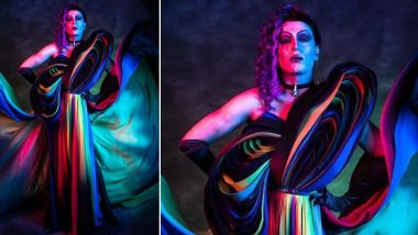 Sushant Divgikar Creates 'Herstory' by Becoming the First Drag Queen to Walk Elle India 2019 Red Carpet! (View Pics)