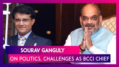 Sourav Ganguly On Joining Politics After Meeting Amit Shah, Challenges He Would Face As BCCI Chief