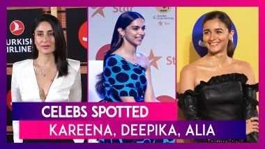 Kareena Kapoor Khan, Deepika Padukone, Karan Johar & Others Seen In The City | Celebs Spotted