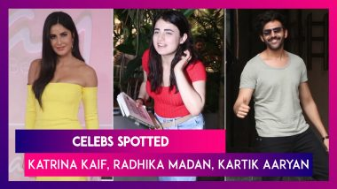 Katrina Kaif, Radhika Madan, Shraddha Kapoor & Other Celebs Spotted In The City