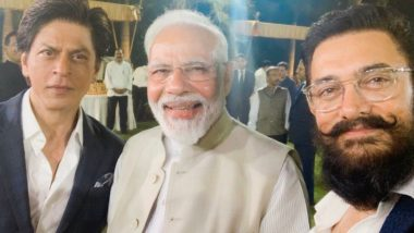Netizens Troll Shah Rukh Khan and Aamir Khan for Clicking a Selfie With PM Modi at the Change Within Event