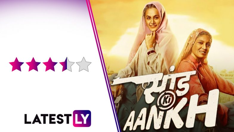Saand Ki Aankh Movie Review: Taapsee Pannu, Bhumi Pednekar Shoot Down Patriarchy and Hit the Bull's Eye in This Feel-Good Entertainer