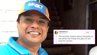 Flipkart Founder Sachin Bansal Recommends Highly Sexist Twitter Account for Men to Follow, Faces Flak From Netizens