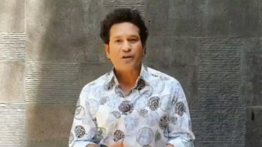 Sachin Tendulkar Hopes Bushfire Cricket Bash Will Offer Relief to People, Wildlife in Australia