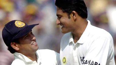 Anil Kumble 49th Birthday: Sachin Tendulkar Wishes Jumbo on His Birth Anniversary, Says 'It Was Pleasure Sharing Field with You'
