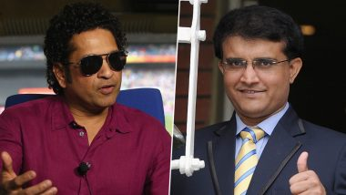 Sachin Tendulkar Congrats Sourav Ganguly for Becoming New BCCI President With a Heart-Warming Tweet