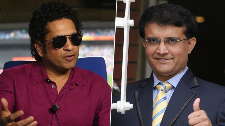 Sourav Ganguly Wants Sachin Tendulkar to Work With Youngsters and Groom Them Into Champion Players