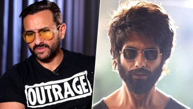 Saif Ali Khan REACTS to the Flak Received by Shahid Kapoor for Kabir Singh