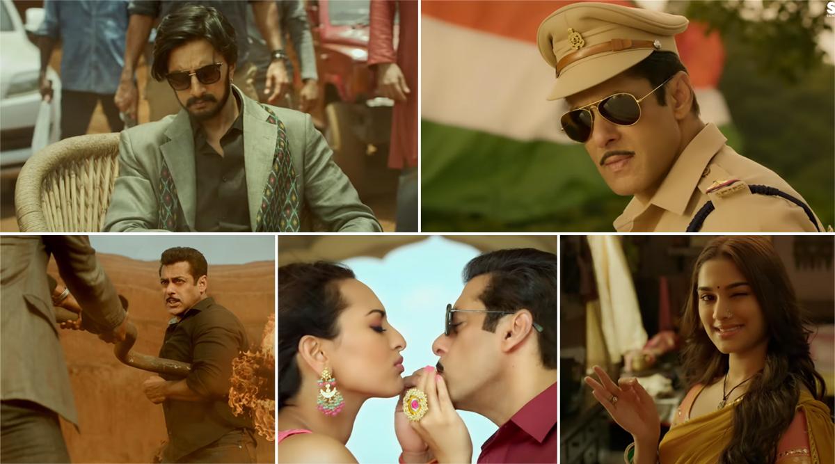 Dabangg 3 Trailer Video: Salman Khan is Here To Tell Us The Interesting Story of How Chulbul Pandey Became 'Policewala Gunda!'