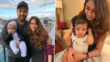 Rohit Sharma's Daughter Samaira Is Too Cute For Words! See Adorable Photos of the Little Princess That Will Melt Your Heart
