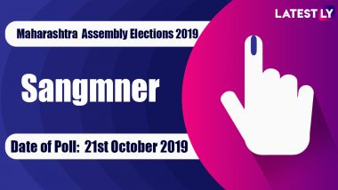 Sangamner Sabha Constituency Election Result 2019 in Maharashtra: Dr.Kiran Yamaji Lahamate of NCP Wins MLA Seat in Assembly Polls