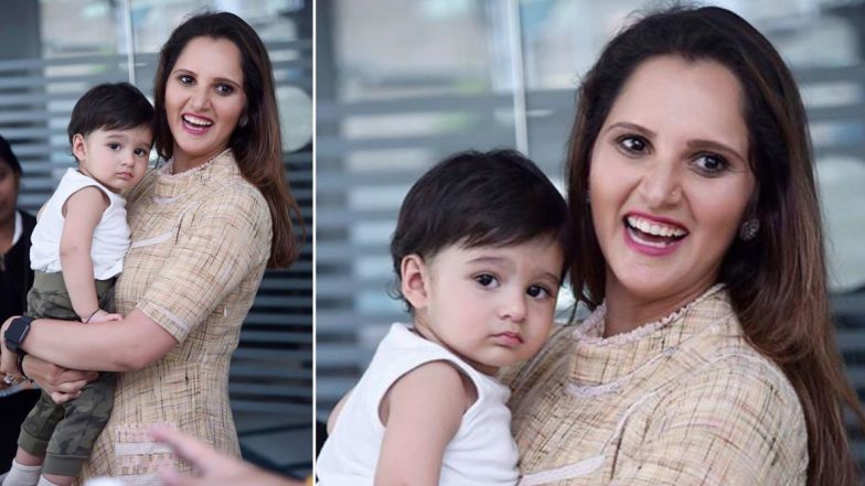 Sania Mirza Shares Cute Photo With Son Izhaan Mirza Malik, Says 'Her Baby Always Spots the Camera' (See Instagram Post)