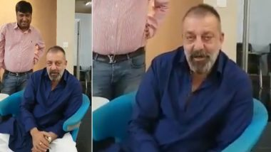 This Video of Sanjay Dutt's Creepy and Cryptic Gesture For a Friend is Going Viral