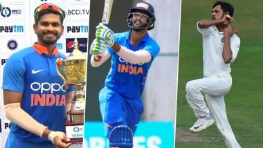 Fans Praise Sanju Samson, Shivam Dube's Call-Up but Disappointed With Shahbaz Nadeem's Exclusion As India Announce Squad for Bangladesh 2019 Series