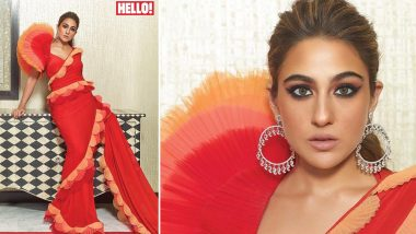 Sara Ali Khan on Hello! Magazine Cover Proves There IS Such a Thing As TOO Much Bronzer!