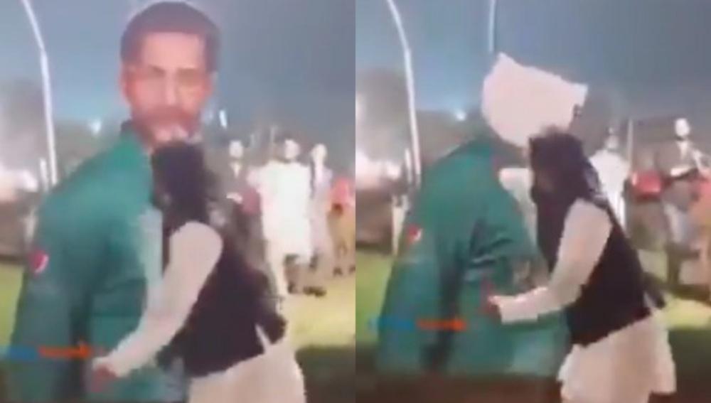 Angry Pakistani Fan Smashes Sarfaraz Ahmed's Hoarding After Team Loses T20I Series Against Sri Lanka (Watch Video)