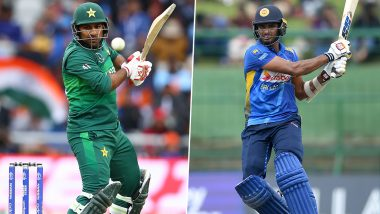 Live Cricket Streaming of Pakistan vs Sri Lanka 2nd T20I 2019 Match on PTV Sports and Sony Six: Watch Free Telecast and Live Score of PAK vs SL T20I Series