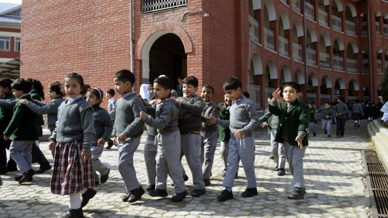 Jammu and Kashmir Schools Open After Remaining Shut For 2 Months Following Article 370 Abrogation