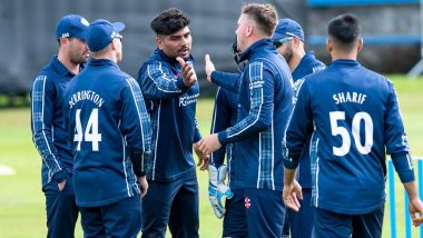 Live Cricket Streaming of UAE vs Scotland, ODI 2019 Online: Watch Free Live Telecast of ICC Cricket World Cup League 2 Series UAE vs SCO Match
