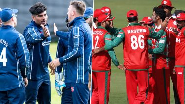Live Cricket Streaming of Scotland vs Oman, ICC T20 World Cup Qualifier 2019 5th Place Playoff Match on Hotstar: Check Live Cricket Score, Watch Free Telecast of SCO vs OMN on TV and Online