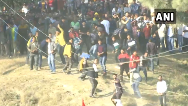 Himachal Pradesh: Day After Diwali, Annual Stone-Pelting Festival Held in Dhami Near Shimla; Watch Video