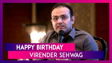 Virender Sehwag Birthday Special: 5 Most Explosive Innings Played by The Nawab of Najafgarh