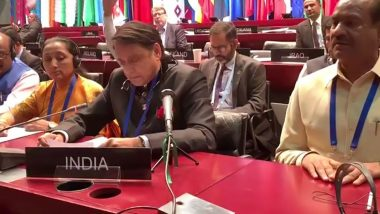 Shashi Tharoor Punctures Pakistan's Narrative on Kashmir at 141st Inter-Parliamentary Union Session, Says Cross Border Interference Unwarranted