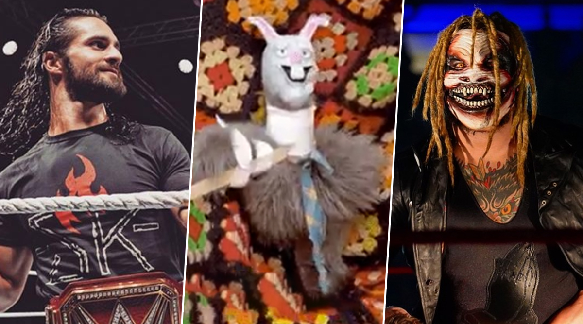 Seth Rollins Trolled For His Tweet After Burning Bray Wyatt's Firefly Fun House & Ending Ramblin Rabbit Character on WWE Raw Oct 14, 2019 Episode