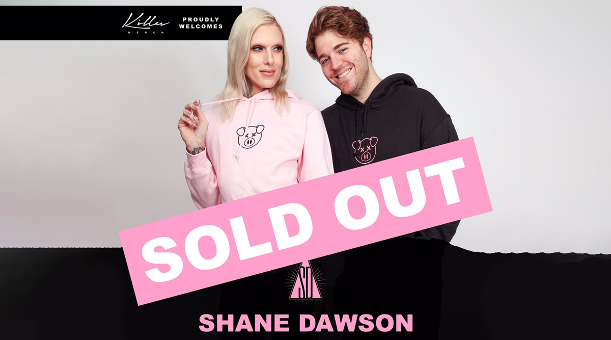 Shane Dawson Merch Collab With Jeffree Star SOLD OUT in Just 1 Hour! Fans Await Restock