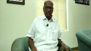 Sharad Pawar Says 'People Have Given Us the Opportunity to Sit in the Opposition and Not Form the Government'