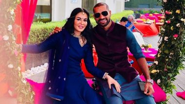 Shikhar Dhawan Posts Heartfelt Karwa Chauth 2019 Message For Wife Ayesha Mukherjee, 'You Are Far But Still Always Close to Me' (View Pic)