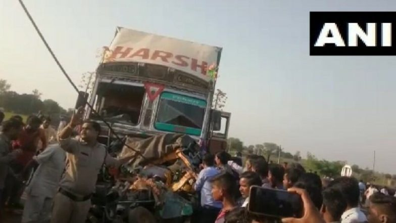 Madhya Pradesh Road Accident: Six Dead After Truck Collides With Auto-Rickshaw on Mumbai–Agra National Highway in Shivpuri District