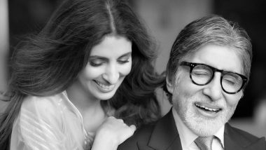 Shweta Bachchan-Nanda Wishes 'Papa' Amitabh Bachchan with an Adorable Insta Post; Big B Thanks Everyone Saying, 'Each One of You Reside In My Heart'
