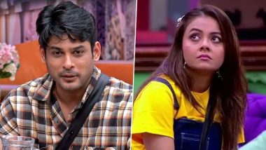 Bigg Boss 13: Fans Are in Sidharth Shukla's Favour Over His #MeToo Argument With Devoleena Bhattacharjee! (View Poll Results)