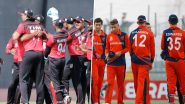Live Cricket Streaming of Netherlands vs Singapore, ICC T20 World Cup Qualifier 2019 Match on Hotstar: Check Live Cricket Score, Watch Free Telecast of NED vs SIN on TV and Online