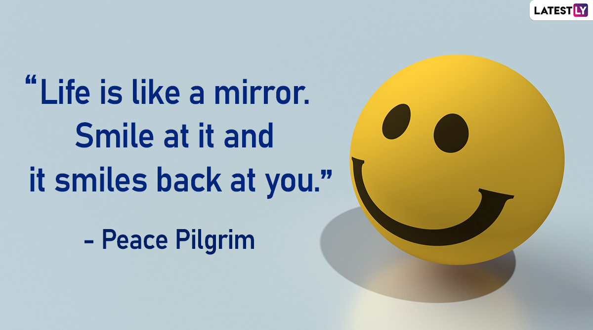 world smile day quotes beautiful sayings and messages to
