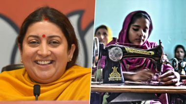 Narendra Modi Govt Planning to Employ 3.75 Million Women Across Villages for Water Testing Under Jal Shakti Ministry, Says Smriti Irani