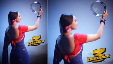 Dabangg 3: Sonakshi Sinha As Rajjo Fasts for Salman Khan Aka Chulbul Pandey This Karwa Chauth (View Pic)