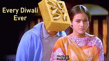 Diwali 2019 Brings With It Soan Papdi Memes! Funny Jokes and Tweets on Not-So-Favourite Diwali Sweet Start Trending Online