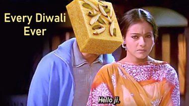 Diwali 2019 Brings With It Soan Papdi Memes! Funny Jokes and Tweets on Not-So-Favourite Diwali Sweet Start Trending Online
