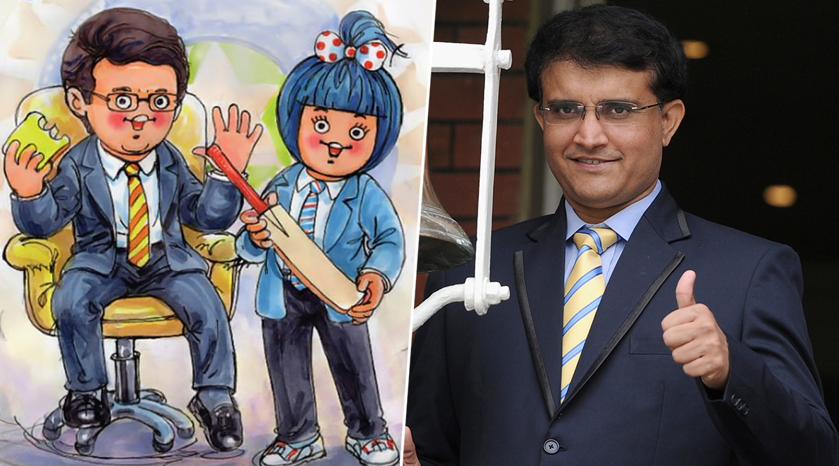 Amul Congratulates Sourav Ganguly On Becoming The New BCCI President, Features Former Captain in a Cool Topical Ad!