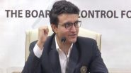 IND vs PAK, T20 World Cup 2021: Sourav Ganguly Says Organising India vs Pakistan Matches is Difficult in India Due To Demand for Tickets